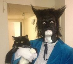 WIN: going for halloween as your cat