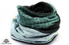 Patchwork-Schal ... kuschelig warm von #Lieblingsmanufaktur