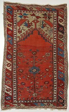 Anatolian Ladik Prayer Rug