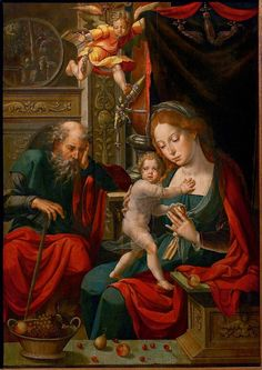 """European Paintings curator Maryan Ainsworth used innovative technologies to study the paintings now on display in """"Grand Design: Pieter Coecke van Aelst and Renaissance Tapestry."""" Learn more in this blog post. 