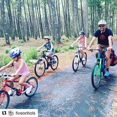 🔝La Velodyssée en famille avec @fiveonhols with @repostapp ・・・ V is for ... Velodyssey, Cote d'Argent, SW France.  Verdict: An easy way to do some family coastal cycling with plenty of beach stops and mobile home options.  We loved:  Everything about this route-to-route medium sized relaxed pace bike ride from Biarritz to Contis-Plage, and the pine forest / laid-back beach combo — would definitely like to return and try the next stage. #velodyssee #familycycling #lavelodyssee #velodyssee…