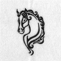 Embroidery Design Pack: Elegant Wild Horses from DayDream Designs