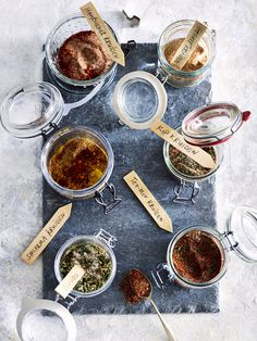 Homemade Seasonings, Spice Blends, Tex Mex, Buffet, Good Food, Spices, Food And Drink, Lunch, Dinner