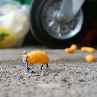 Slinkachu// The art of Slinkachu
