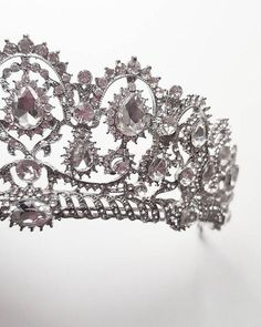 This item is unavailable Silver Wedding Crowns, Wedding Bride, Wedding Day, Bridal Hairpiece, Brooch Bouquets, Queen, Formal Wedding, Bridal Accessories, Hair Pieces