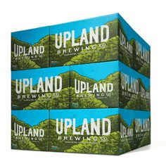 Upland Brewing Cases #thenewupland