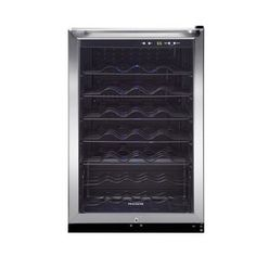 frigidaire 42bottle stainless steel wine chiller