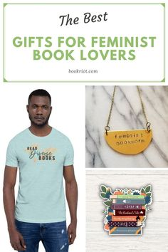 These gifts are perfect for the book loving feminists in your life (or yourself!). gifts for feminists | gifts for book lovers | gifts for readers