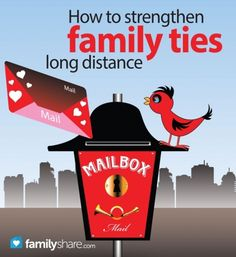 How to strengthen family ties long distance - Family Today Long Distance Love, Long Distance Gifts, Family Activities, Learning Activities, Family Separation, Family Share, Family Traditions, Christmas Traditions, Kids And Parenting