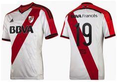 River Plate 2014/2015. Basada en el Template de Adidas 2014.