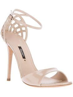 BALDAN nude sandals