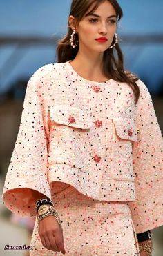 b1748c20b Las 16 mejores imágenes de vestidos tipo chanel   Cute dresses ...