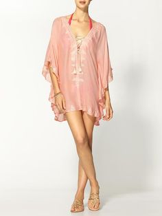 melissa odabash embroidered swimsuit cover-up