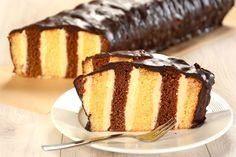 Ciasto metrowiec- przepis krok po kroku - przepisy.pl Fondant Cupcakes, Let Them Eat Cake, Vanilla Cake, Food To Make, Ale, Good Food, Food And Drink, Pudding, Bread