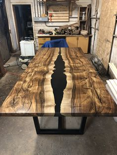 8 best black walnut river table images in 2019 custom wood rh pinterest com