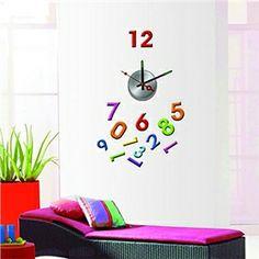 DIY Wall Sticker Clock (0752-10A007)