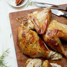 Herb and Lemon Stuffed Turkey  #myplate #protein #vegetables