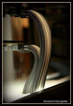 Cobra Like Wire Management by Richard Kiersgieter.
