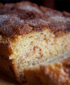 The Amazing Amish Cinnamon Bread ~ Amish recipes will never go out of date, because they are so simple and budget-friendly.