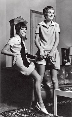 Mary Quant and Grace Coddington