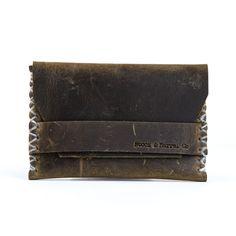 Leather Card Holder | Huckberry
