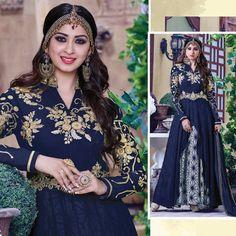 Bollywood Anarkali Dress Indian Pakistani Shalwar Kameez Wedding Designer Suit #Shoppingover #Salwarkameez