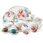 DIANE von FURSTENBERG Floral Batik Dinnerware Collection
