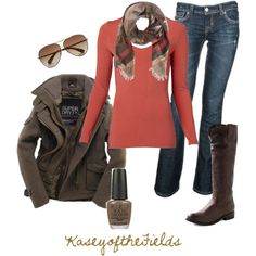 #falloutfits | Fall Outfits | Fall Coral 2 | Fashionista Trends