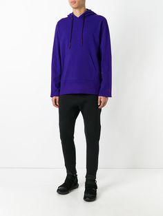 Y-3 - Purple pullover hoodie