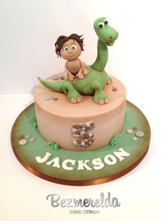 The Good Dinosaur themed cake