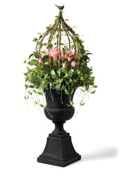 Put a fresh new face on your home with the look of professionally designed foliage that never needs watering.