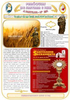 Paróquias de Santana e Ilha: A Partilha nº 251 - 31 de julho a 7 de agosto de 2...