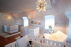 Triplet nursery inspiration
