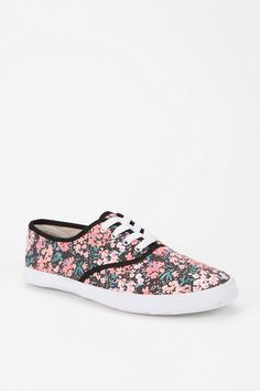 Pansy Plimsoll Sneaker  #UrbanOutfitters    I think I might get these.  They are only 10 dollars and it's free shipping...