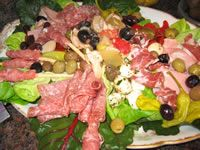 Traditional Antipasti Platter Recipe My Nonni's Italian Foods... yum... could go for some of this right now