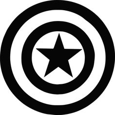 Marvel - Captain America Shield Vinyl Decal