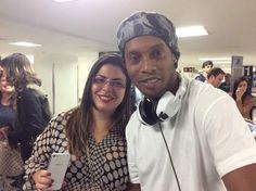 Ronaldinho prova il nostro Space Phone!!!