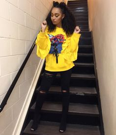 """110.9 m Gostos, 417 Comentários - Leigh-Anne Pinnock (@leighannepinnock) no Instagram: """"It was a Yellow day today.. """""""