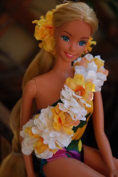 Tropical Barbie 1986.
