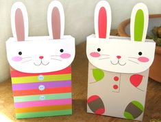 easy Easter treat bags that the kids can make