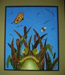 Beaded Paintings - Star Hand Arts