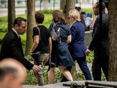 FAKE EXPOSED! Hillary Clinton At 911 Memorial With Doctor And Camerawoman…