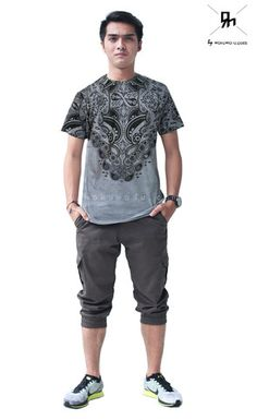 T- Shirt RH008 by Ricky Harun, available now on www.wokuwoku.com
