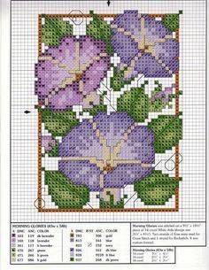 Leisure Arts '' Floral Minis '' - campanule