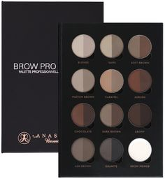 This pro kit holds all eleven shades of the Brow Powder Duo—plus Brow Primer—to suit every skin tone. Each pan contains densely-packed, finely-milled pigments in two corresponding light and dark hues, allowing you to add deeper or lighter tones exactly where you need them.