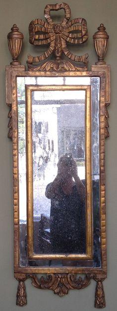 Wonderful 18th century Italian Gold Leaf Mirror