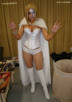 Hellfire White Queen cosplay