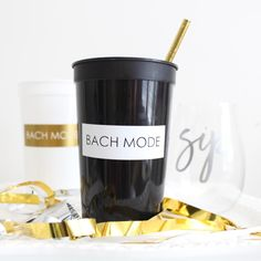 New in the shop :: Bach Mode Bachelorette Party Cups