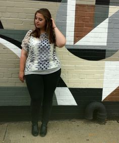 Plus Sized #OOTD Like what you see? Visit us at www.Dia.co and make a request!