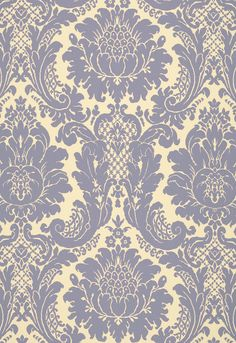 Fabric | Harmon Manor II in Blue | Schumacher